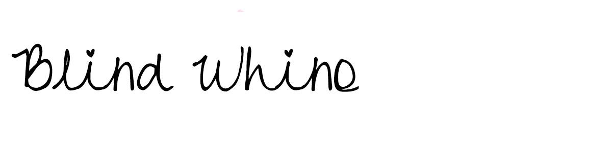 blindwhino