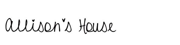 allisonshouse