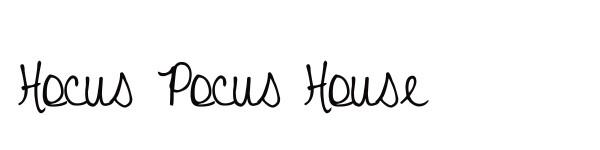 hocuspocushouse