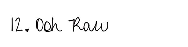 oohraw